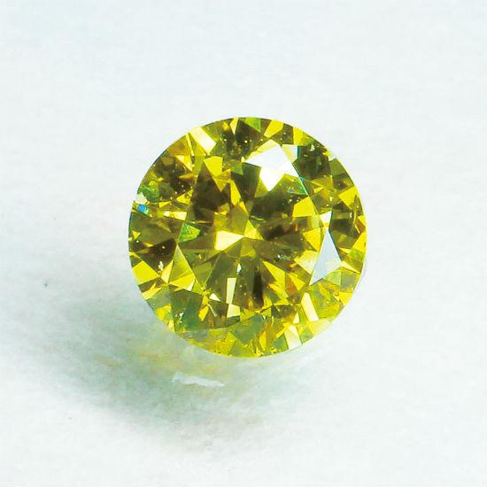 ファンシーディープイエローダイヤモンド