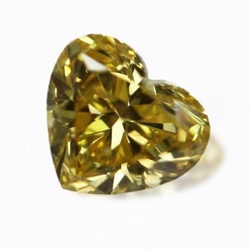 Fancy Vivid Yellow Diamond (カナリーダイヤモンド)