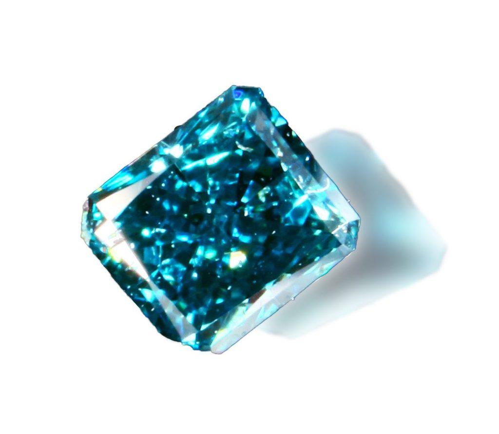 Fancy Deep Greenish Blue Diamond