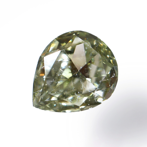 Fancy Grayish Yellowish Green Diamond(カメレオン)