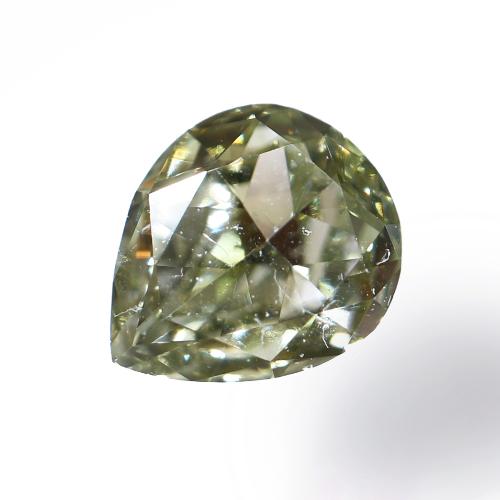 Fancy Grayish Yellowish Green Diamond(カメレオン)