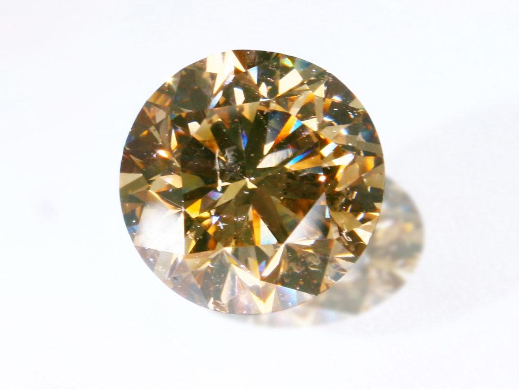 Brown Diamond(シャンパンカラーダイヤモンド)