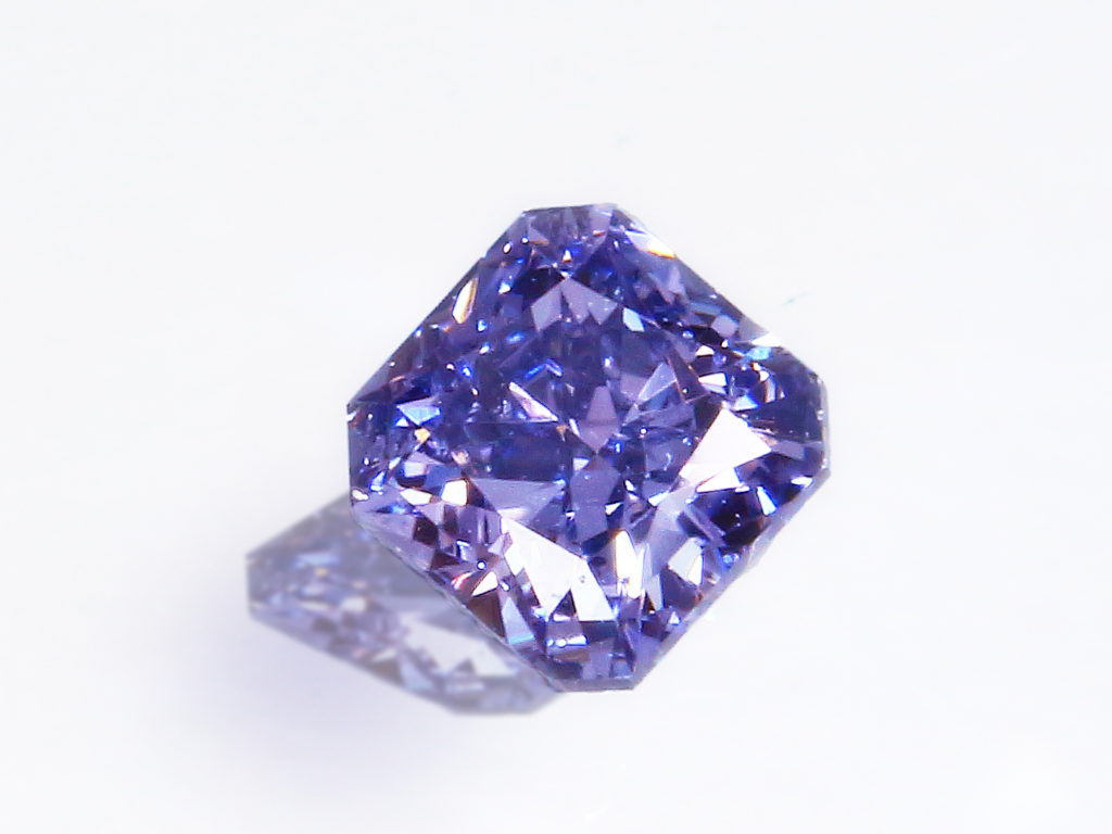 Fancy Deep Gray Violet Diamond(0.094ct)