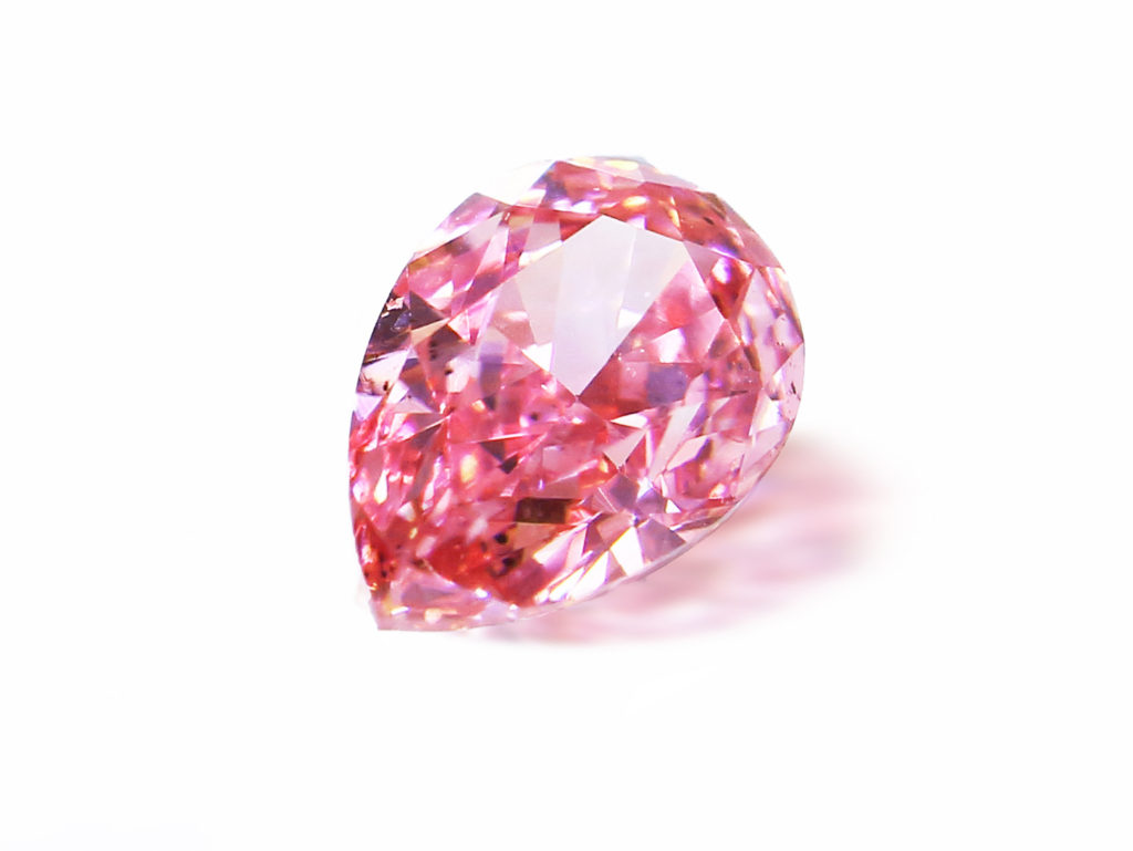 Fancy Intense Purplish Pink Diamond(0.125ct)