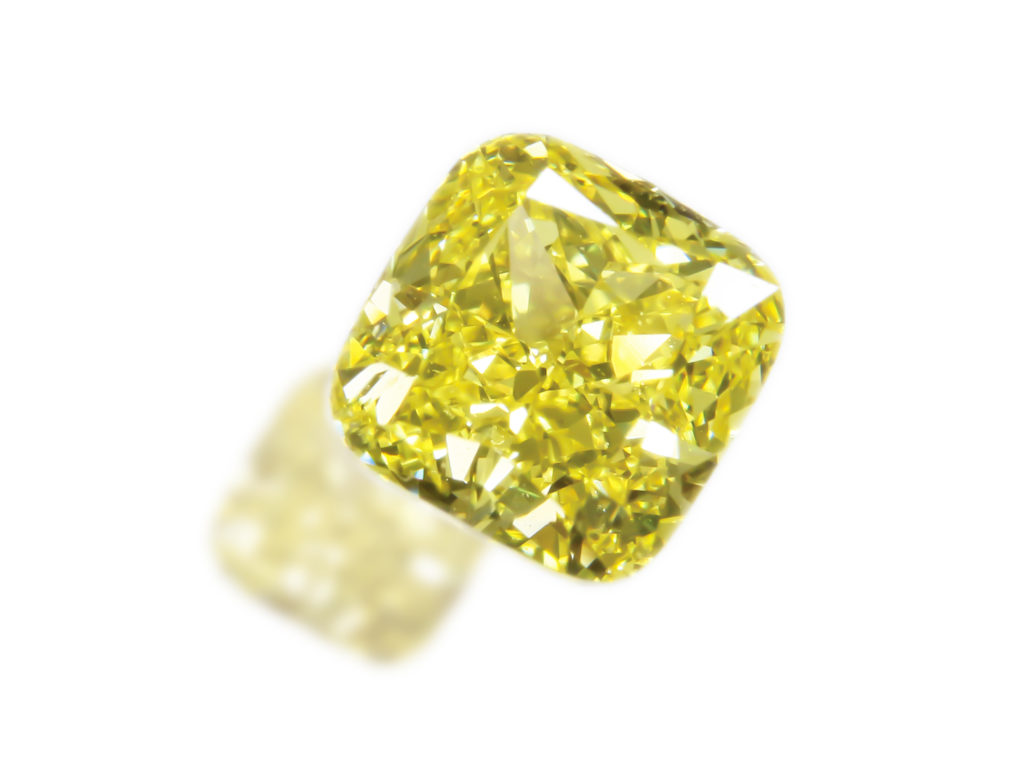 Fancy Vivid Yellow Diamond(0.42ct)