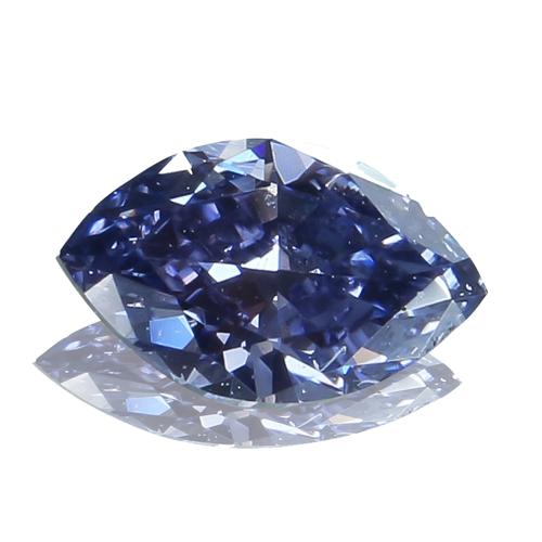 ファンシーグレイッシュヴァイオレットダイヤモンド0.080ct